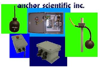 Anchor Scientific float switches and controls